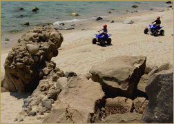 Los Barriles ATV on Beach